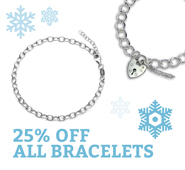January Sale 25% Off Charm Bracelets