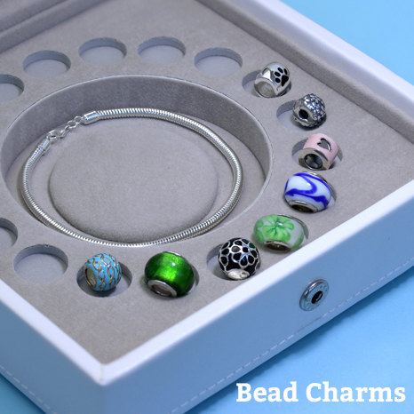 Sterling Silver Bead Charms from The Charm Works