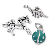 Sterling Silver Animal Charms