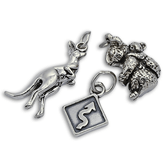 Sterling Silver Australia Charms