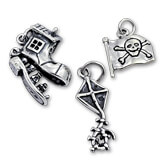 Sterling Silver Babies and Children Charms