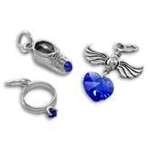 Sterling Silver Birthstone Charms