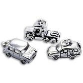 Sterling Silver Car Charms