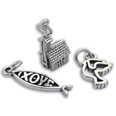 Sterling Silver Christian Charms