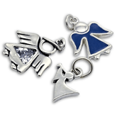 Sterling Silver Angel Charms