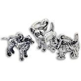 Sterling Silver Dog Charms