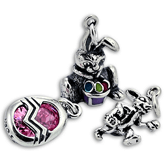 Sterling Silver Easter Charms