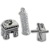 Sterling Silver Europe Charms