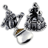 Sterling Silver Fairytale Charms
