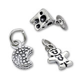 Sterling Silver Food and Drink Charms