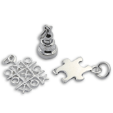Sterling Silver Game Charms