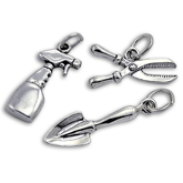 Sterling Silver Gardening Charms