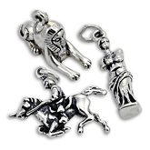 Sterling Silver Historical Charms