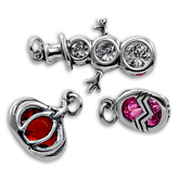Sterling Silver Holiday Charms