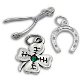 Sterling Silver Lucky Charms