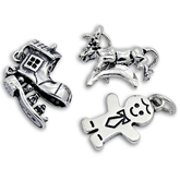Sterling Silver Nursery Charms