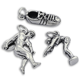Sterling Silver Olympic Charms