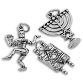 Sterling Silver Other Religious Charms