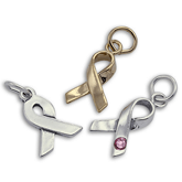 Sterling Silver Ribbon Charms