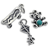 Sterling Silver Toy Charms