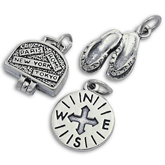 Sterling Silver Travelling Charms