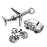 Sterling Silver Vehicle Charms