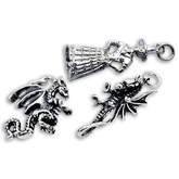 Sterling Silver Welsh Charms