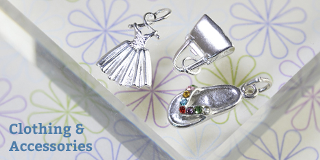 Clothing & Accessories Charms