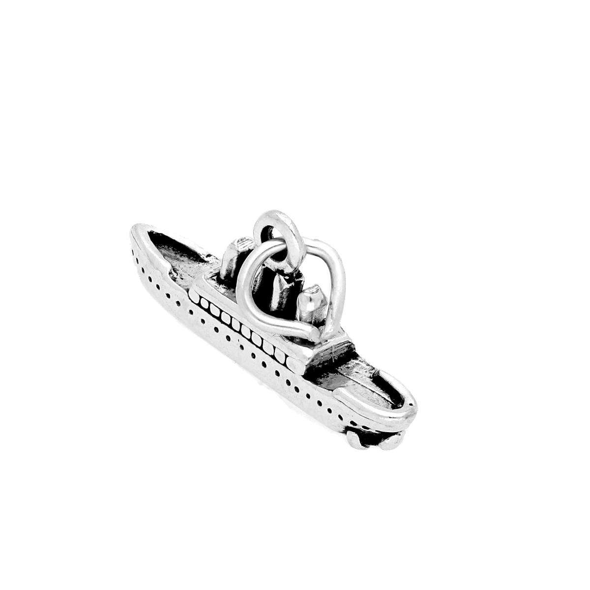 TheCharmWorks Sterling Silver Steam Liner Charm
