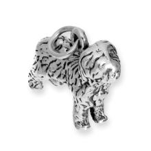 Sterling Silver Old English Sheepdog Charm