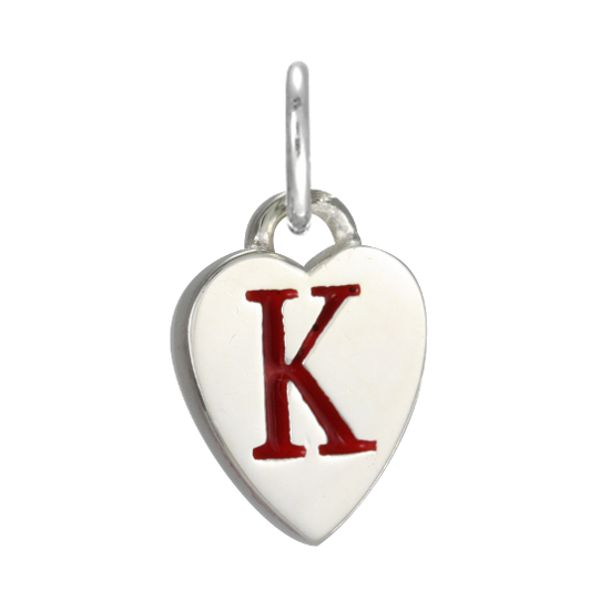 Stylish k Alphabet in Heart Heart Alphabet Letter k
