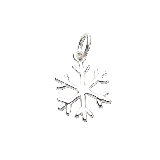 Sterling Silver Winter Snowflake