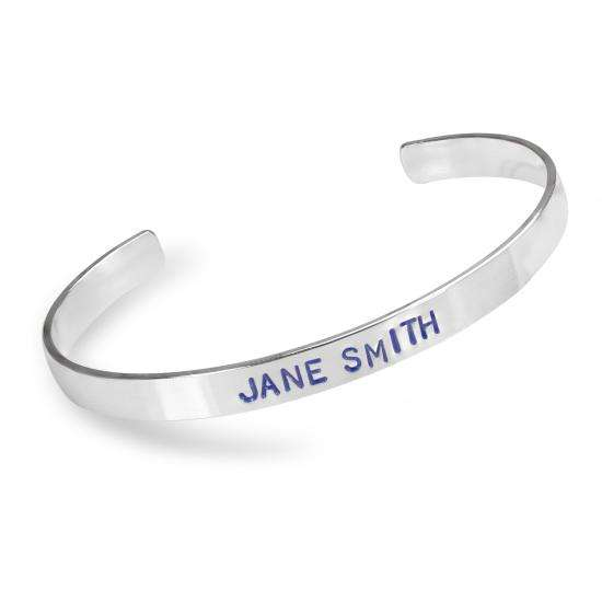 Sterling Silver 6mm Polished Bangle