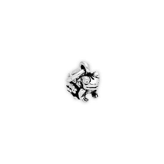 Sterling Silver Tiny Toad Charm
