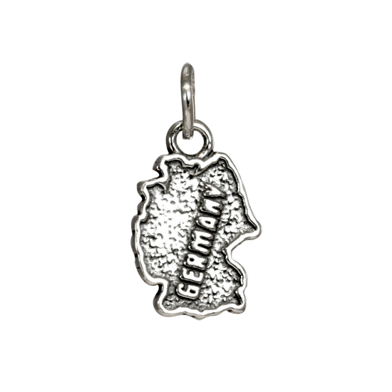 Sterling Silver Germany Charm