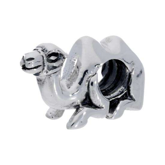 Sterling Silver Camel Bead Charm