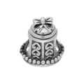 Sterling Silver Fancy Bell Bead Charm