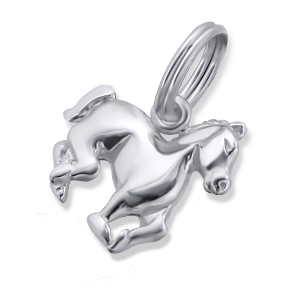 An image of Sterling Silver Horse Charm
