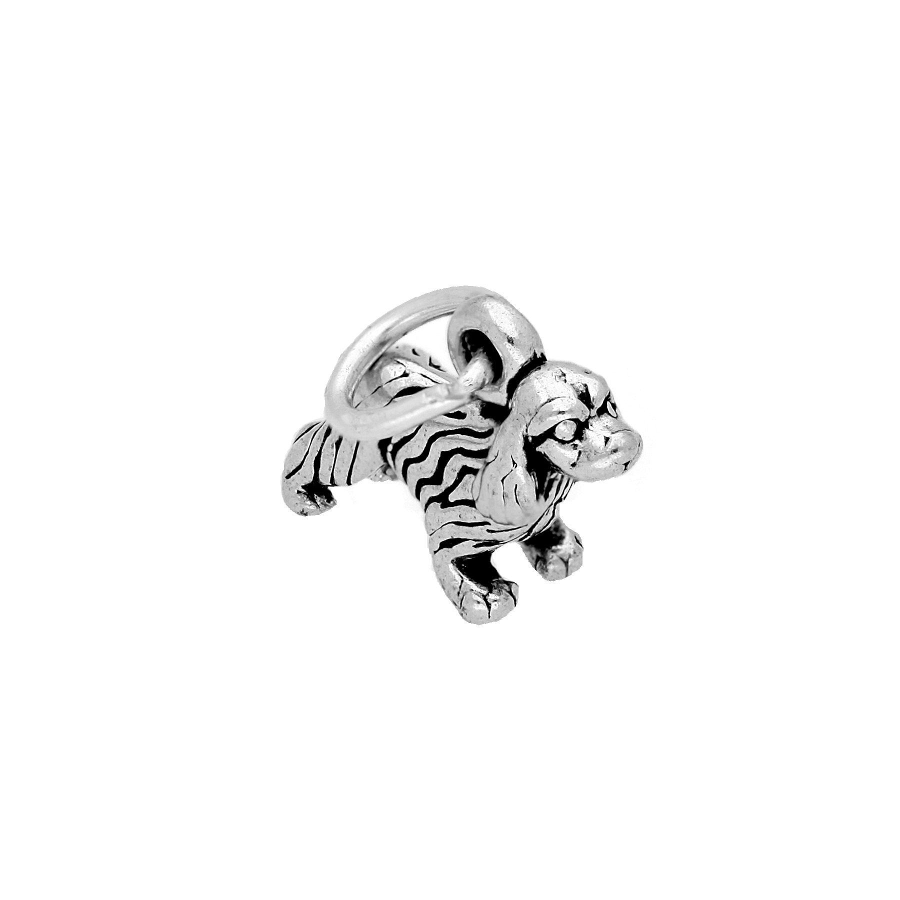 An image of Sterling Silver Irish Setter Charm