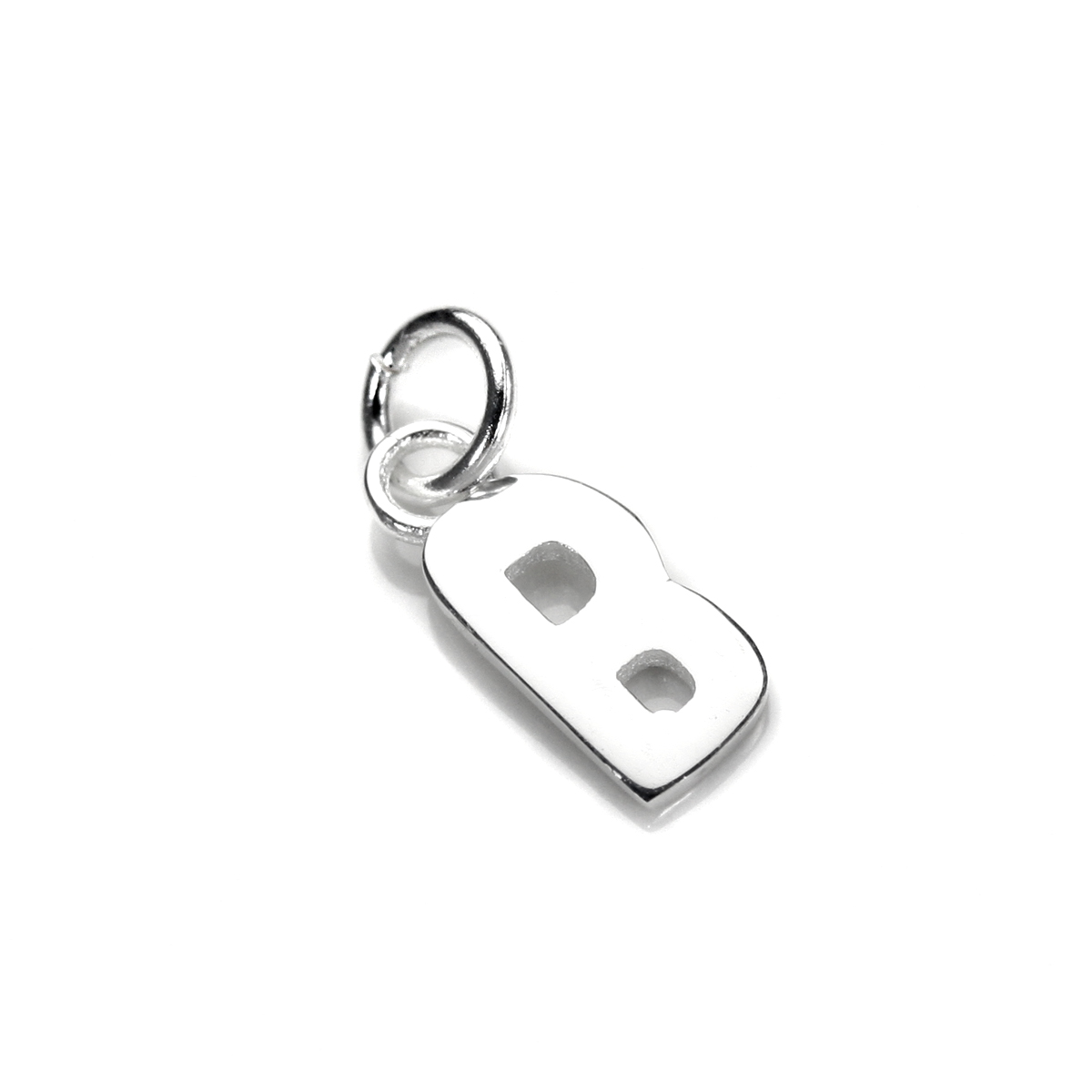 An image of Sterling Silver Letter B Charm