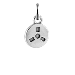 Sterling Silver Film Reel Charm