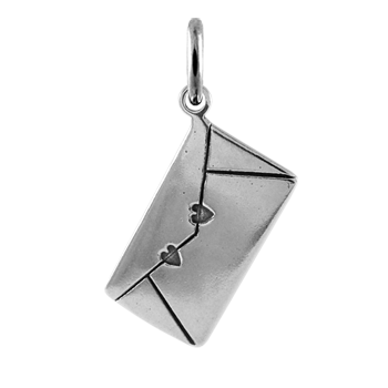 Sterling Silver Large Love Letter Charm