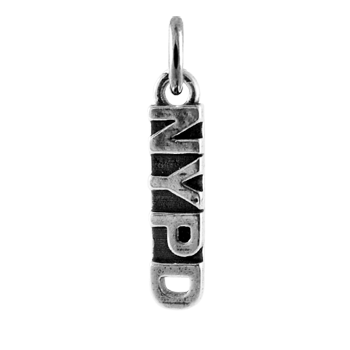 Sterling Silver NYPD Charm