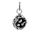 Sterling Silver Birds Nest With Eggs Charm