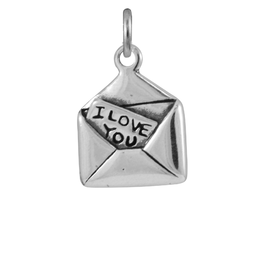 Sterling Silver Love Letter Charm