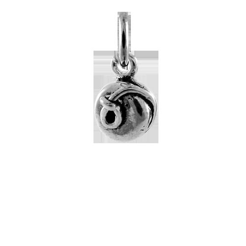 An image of Sterling Silver 3D Yo-Yo Charm