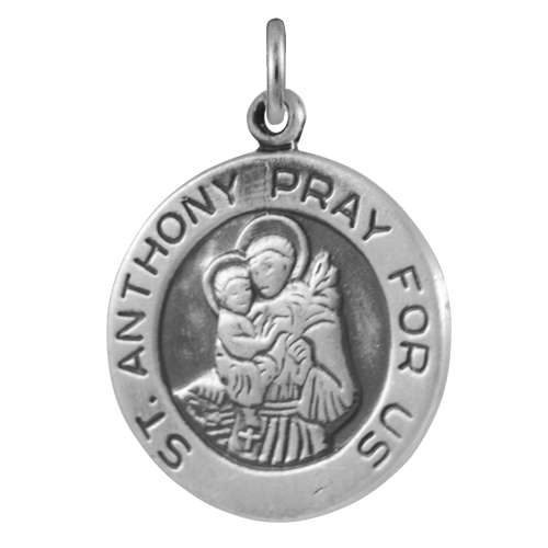 Sterling Silver St Anthony Charm