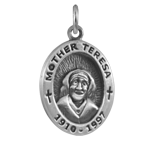 Sterling Silver Mother Teresa Charm