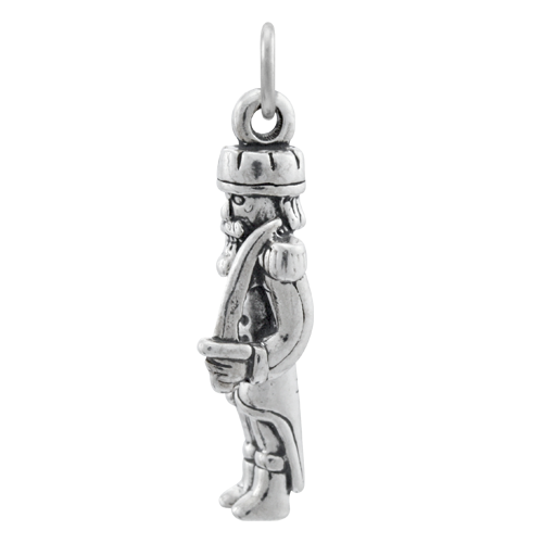 Sterling Silver Toy Soldier Charm