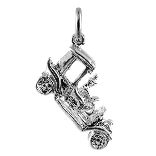 Sterling Silver Vintage Car Charm